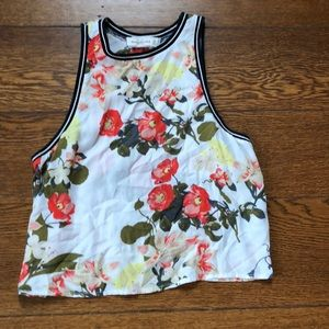 Abercrombie + Fitch Floral Printed Crop Top XS